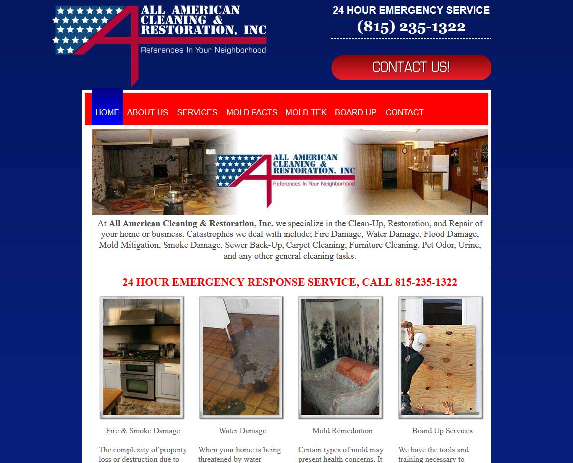 All American Cleaning Freeport Illinois